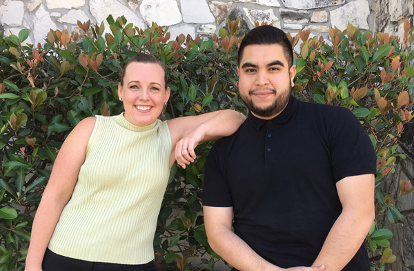 New Employees - Eddie and Kelly