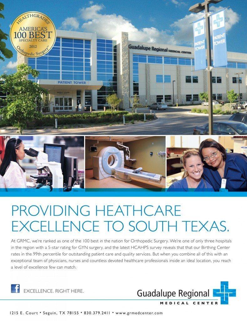 Guadalupe Regional Medical Center Ad