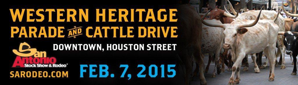 San Antonio Stock Show & Rodeo Western Heritage Billboard