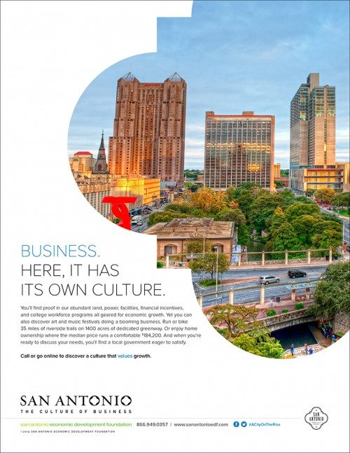 San Antonio Culture Of Business Ad Series Advertising