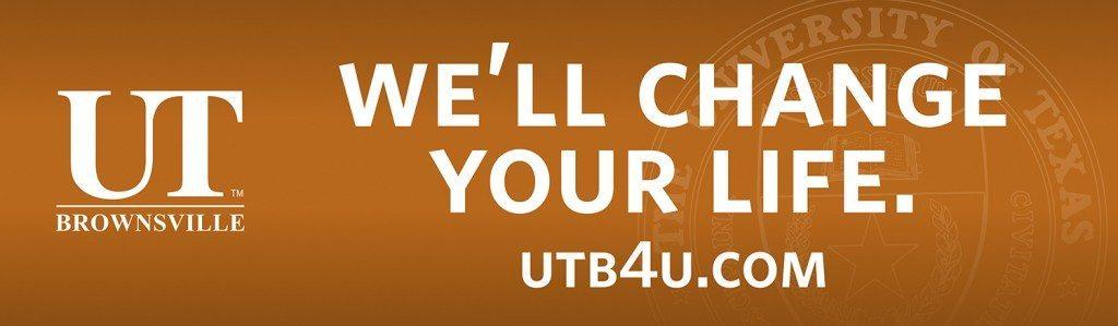 UTB We'll Change Your Life.
