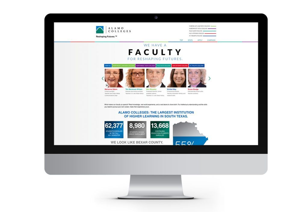 alamo-faculty-website